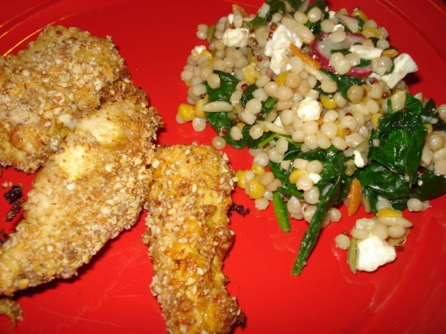 almond-crusted-chicken-fingers